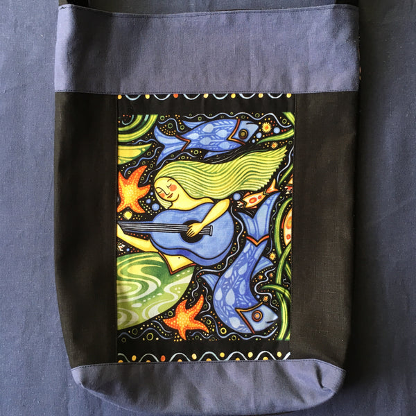Sewfunky Hemp Crowned Fish Bag