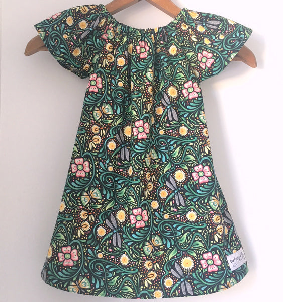 Sewfunky Pixie Dress - Luminaria