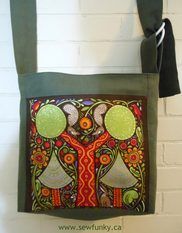 Sewfunky Hemp Squirrel Bag