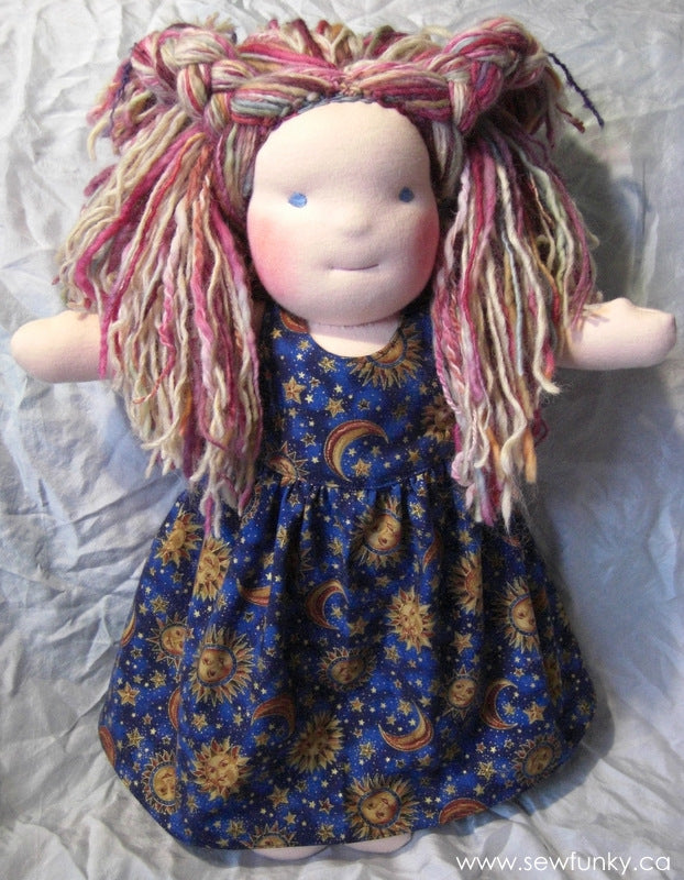 Sewfunky Waldorf Inspired Natural Doll