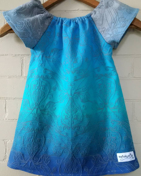 Sewfunky Pixie Dress - Custom Wrap Conversion