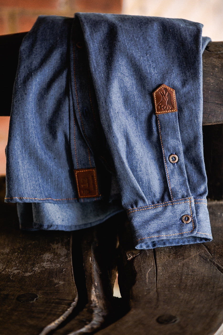 DENIM T-BROWN • BRUMA X BRAVEMAN