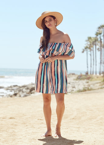 Santorini Off the Shoulder Dress