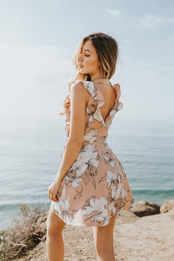 Lost and Wander - Naomi Ruffle Dress