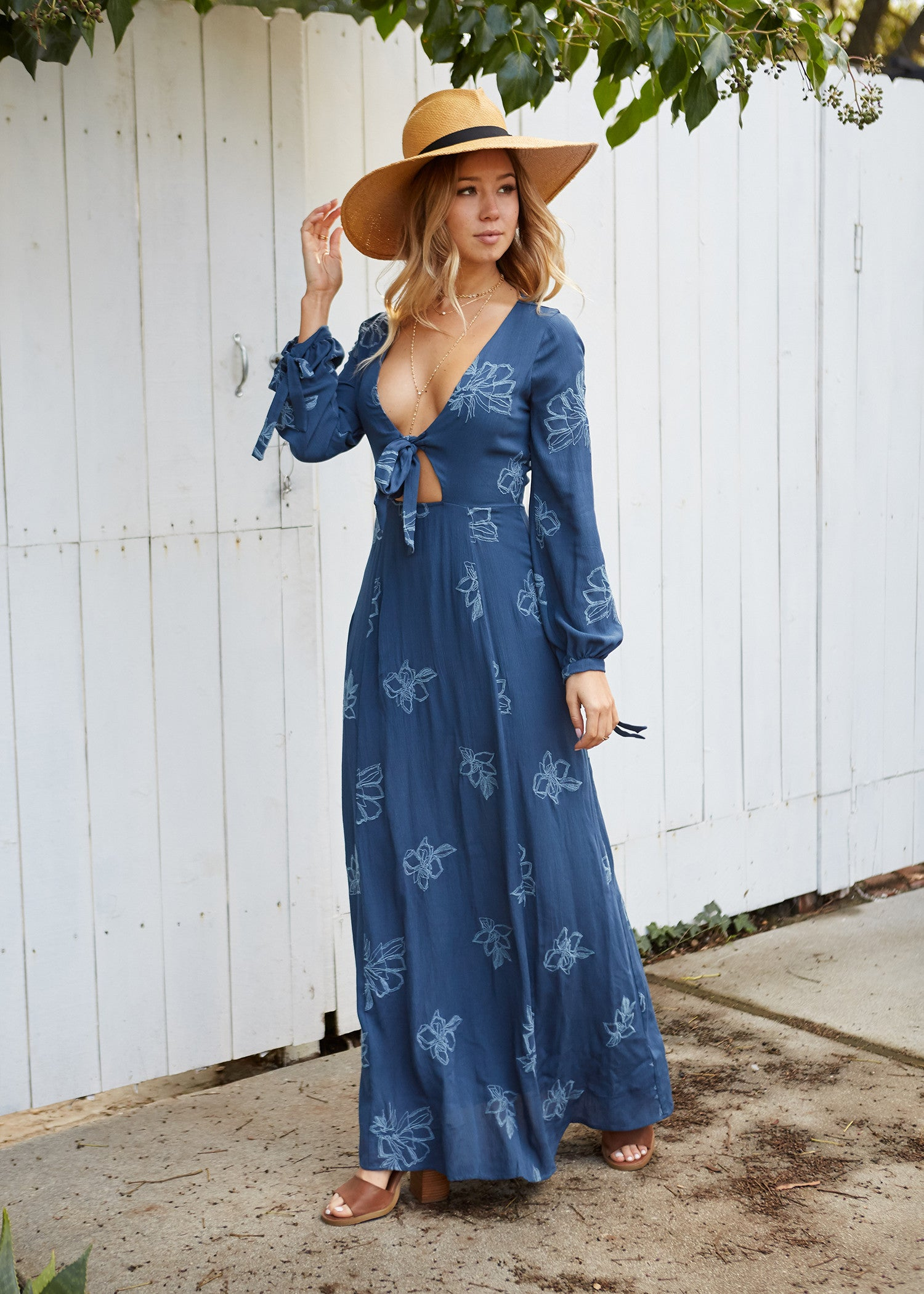 Lost and Wander - Autumn Maxi Dress