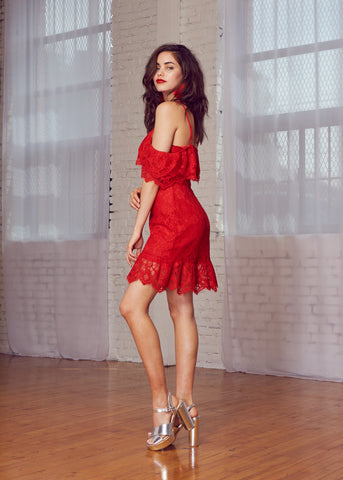 L'Amour Ruffle Dress