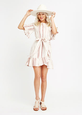 Mariana Ruffle Mini Dress