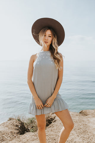 Kiki Halter Dress - Lost + Wander