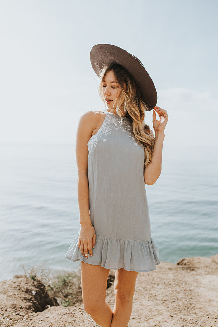 Kiki Halter Dress - Lost and Wander