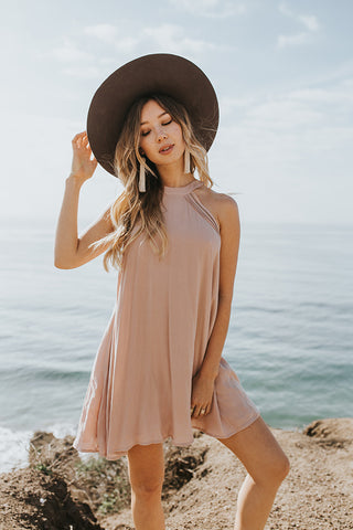 Lost + Wander - Claire Halter Dress
