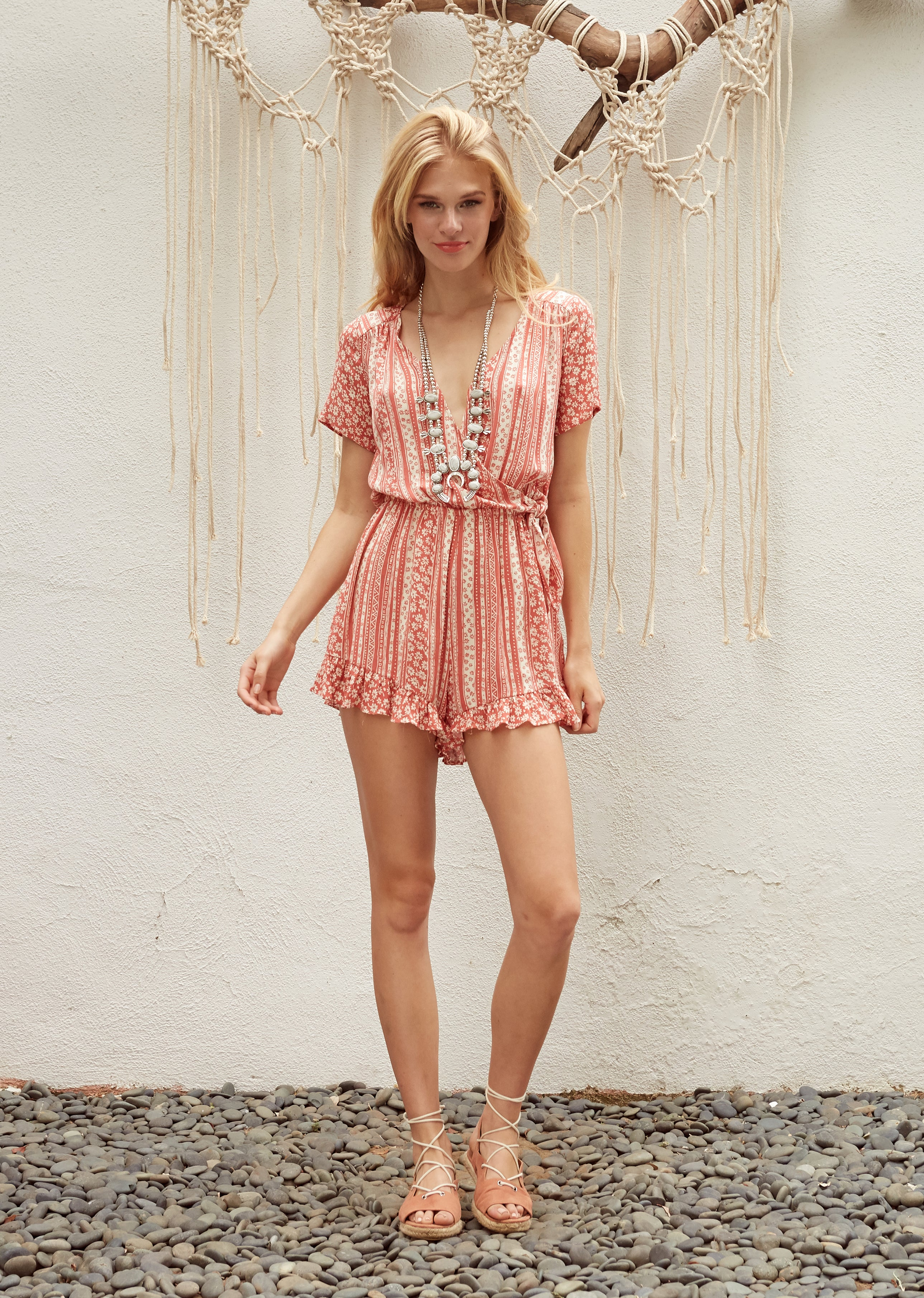 Suns Out Romper
