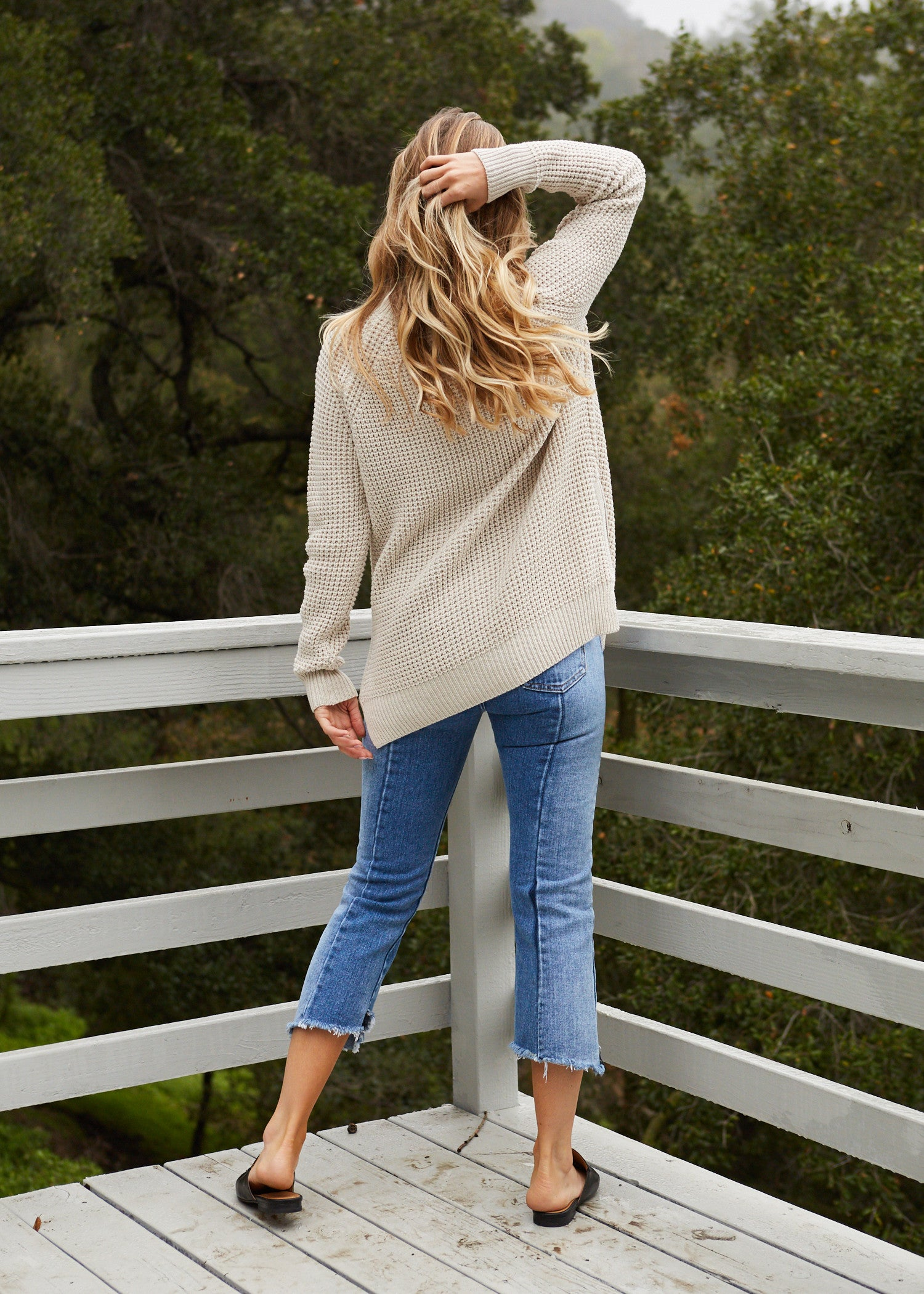 Adelia Turtle Neck Top