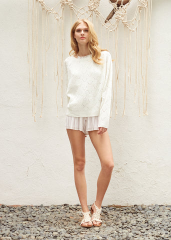 Soleil Long Sleeve Knit Sweater