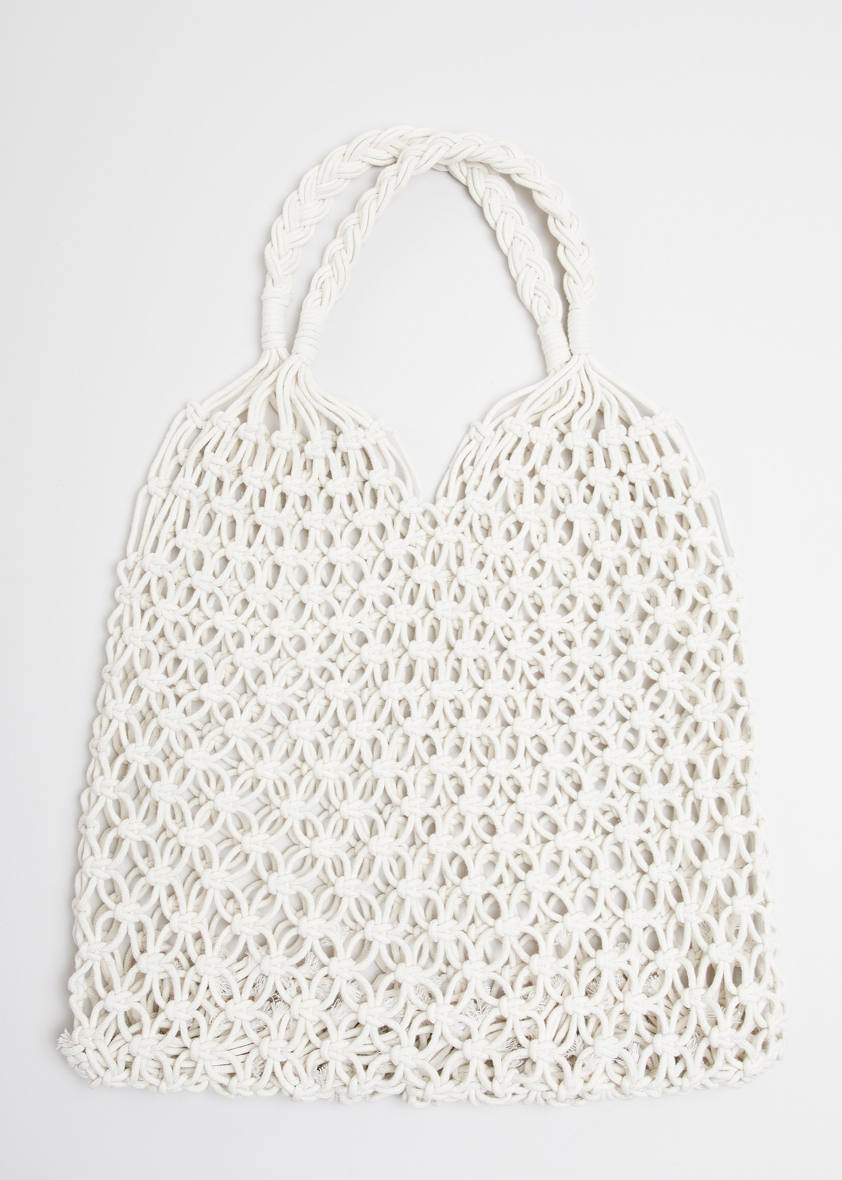 CARRY SWEET FRUITS BAG // WHITE