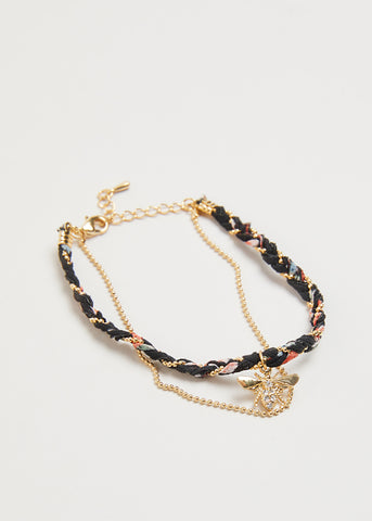 BEE GOLD DUO BRACELET // MYSTIC