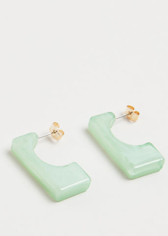 WARM DAYS, COOL NIGHTS EARRINGS // JADE