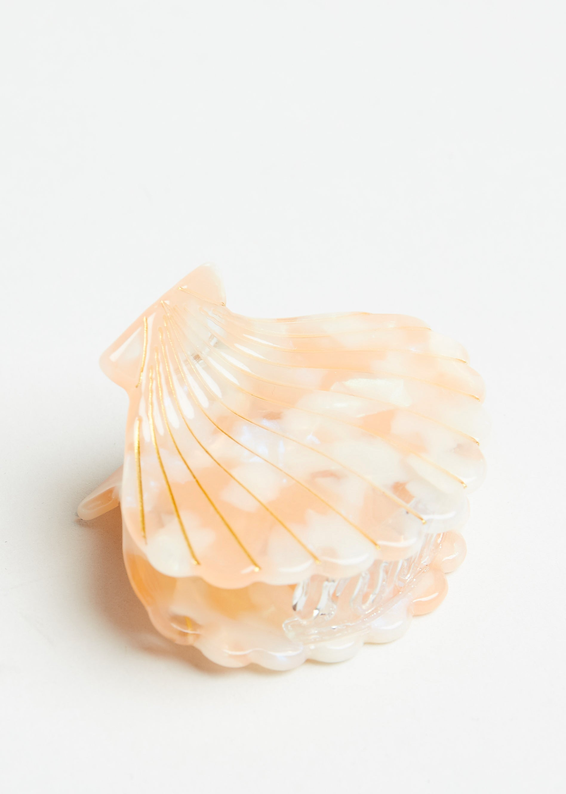 SEASHELLS BY THE SEASHORE HAIR CLIP