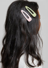 TEENAGE DREAMS HAIR CLIP // PINK