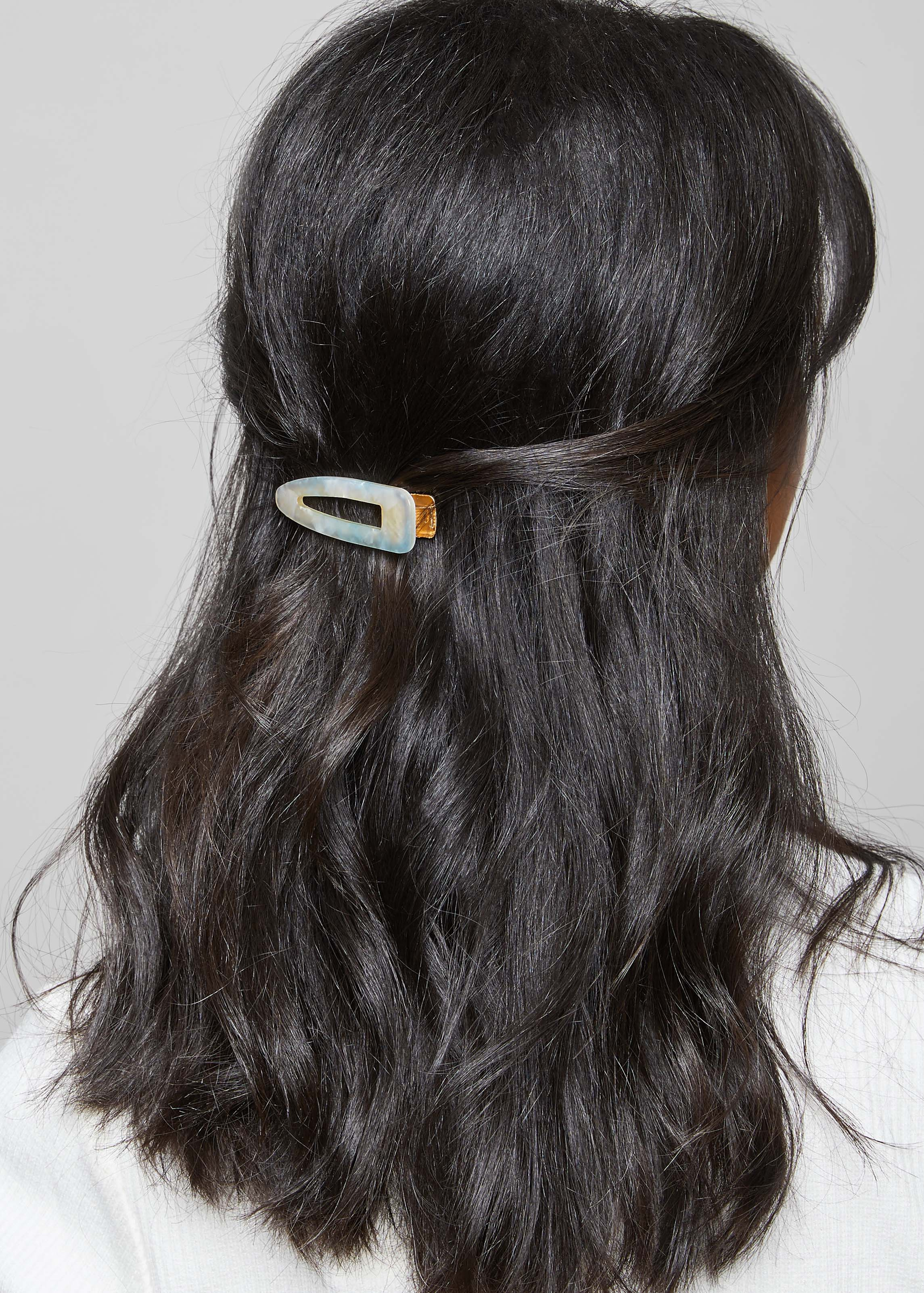WAVES OF THE SEA HAIR CLIP