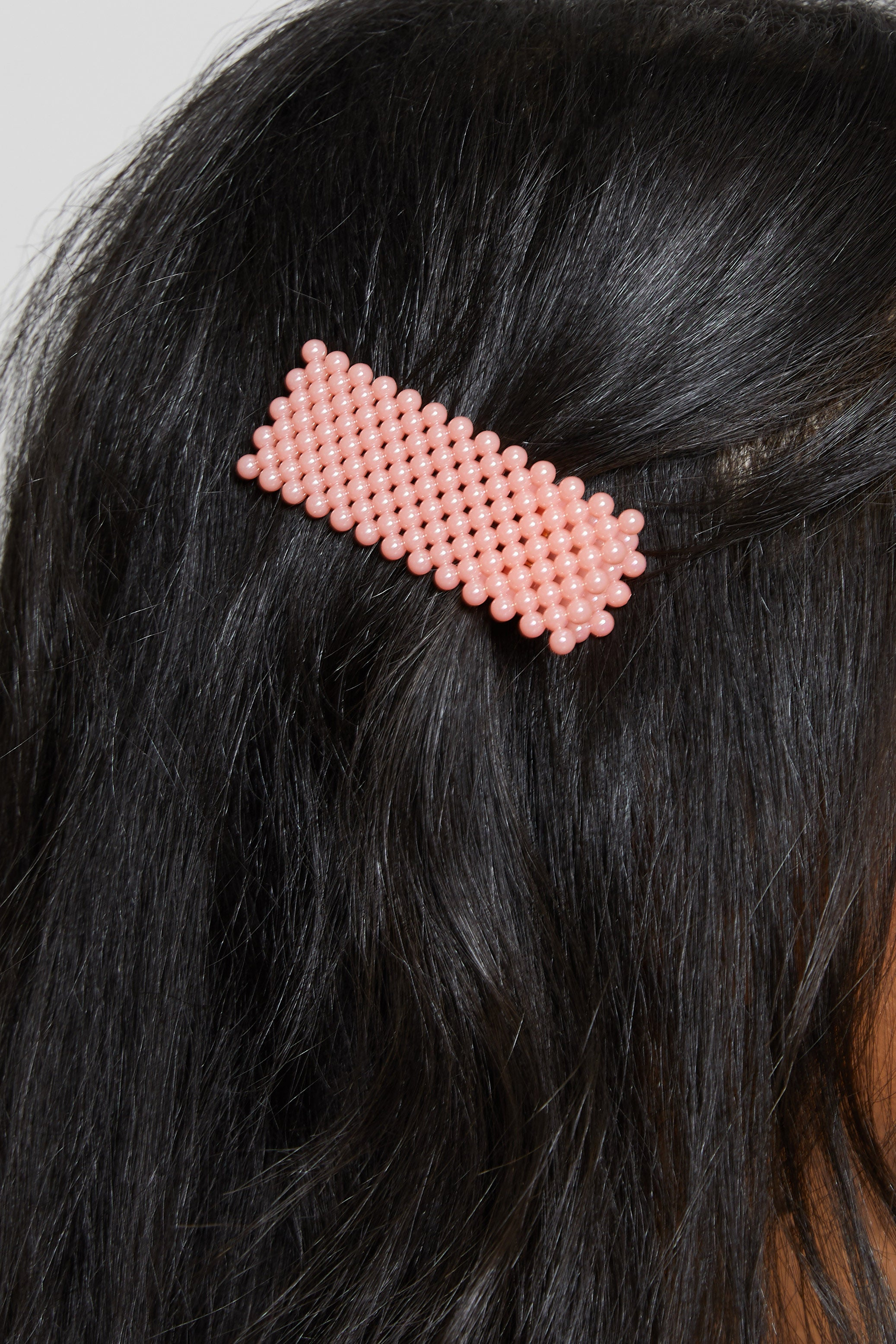 PRETTY IN PINK PEARL HAIR CLIP