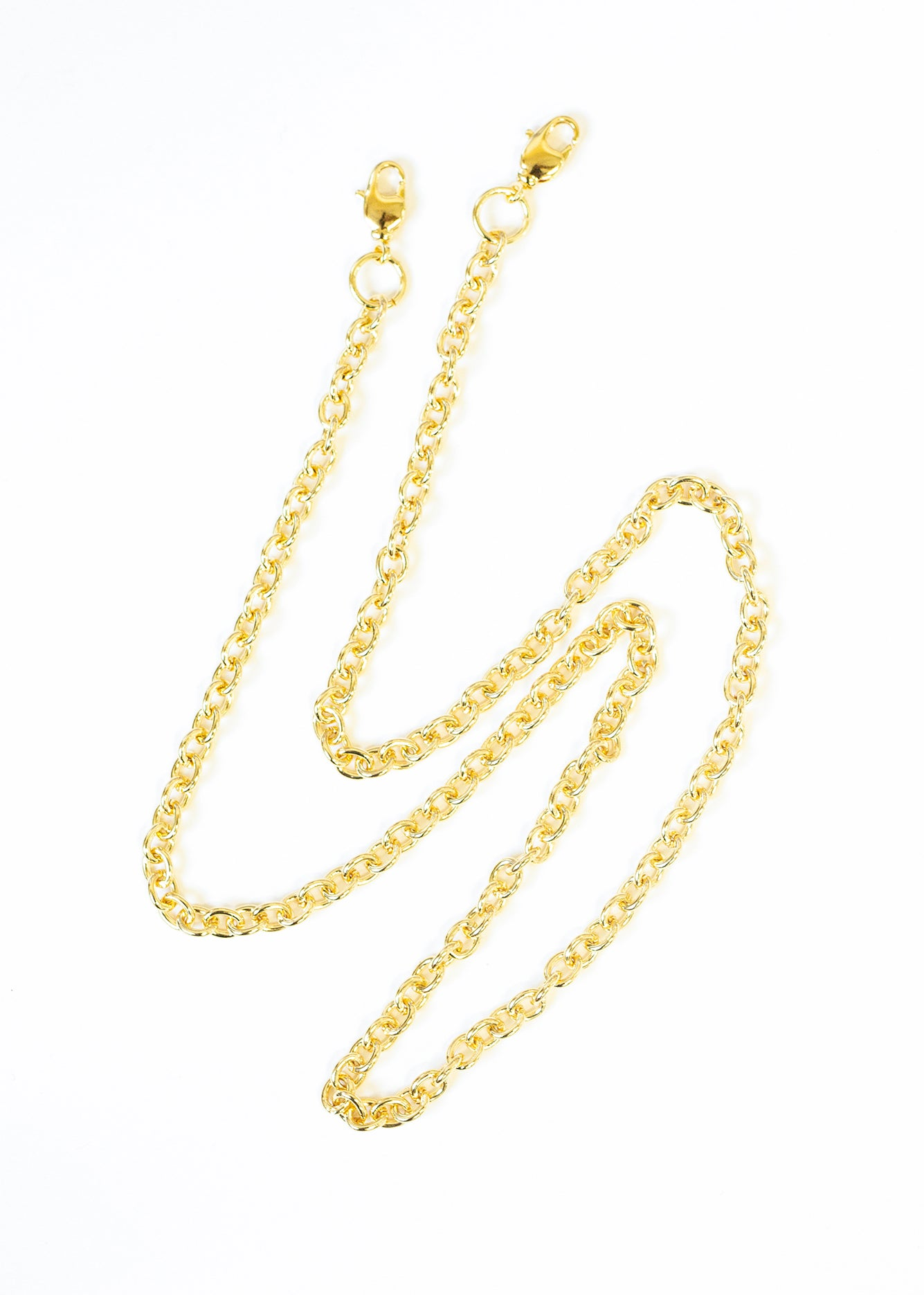 18K Face Mask Chain