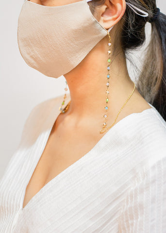 Multi-Colored Face Mask Chain