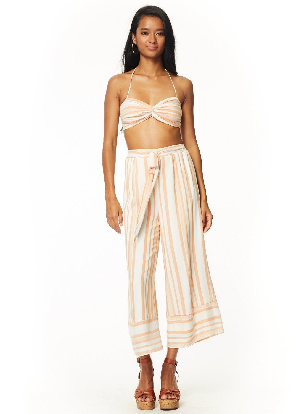 Rum N' Coke Wide Leg Pants