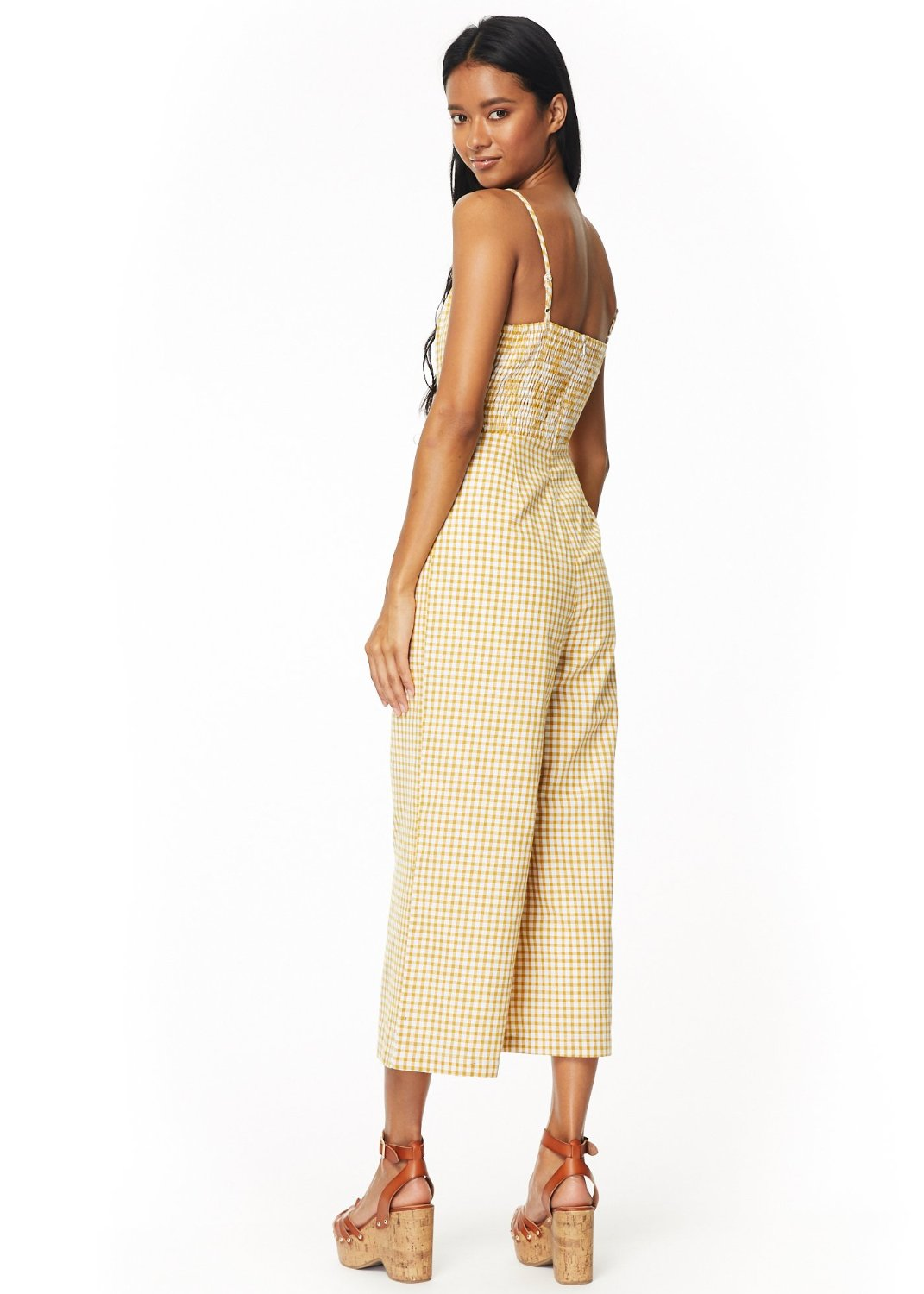 Mimosa Button Front Jumpsuit