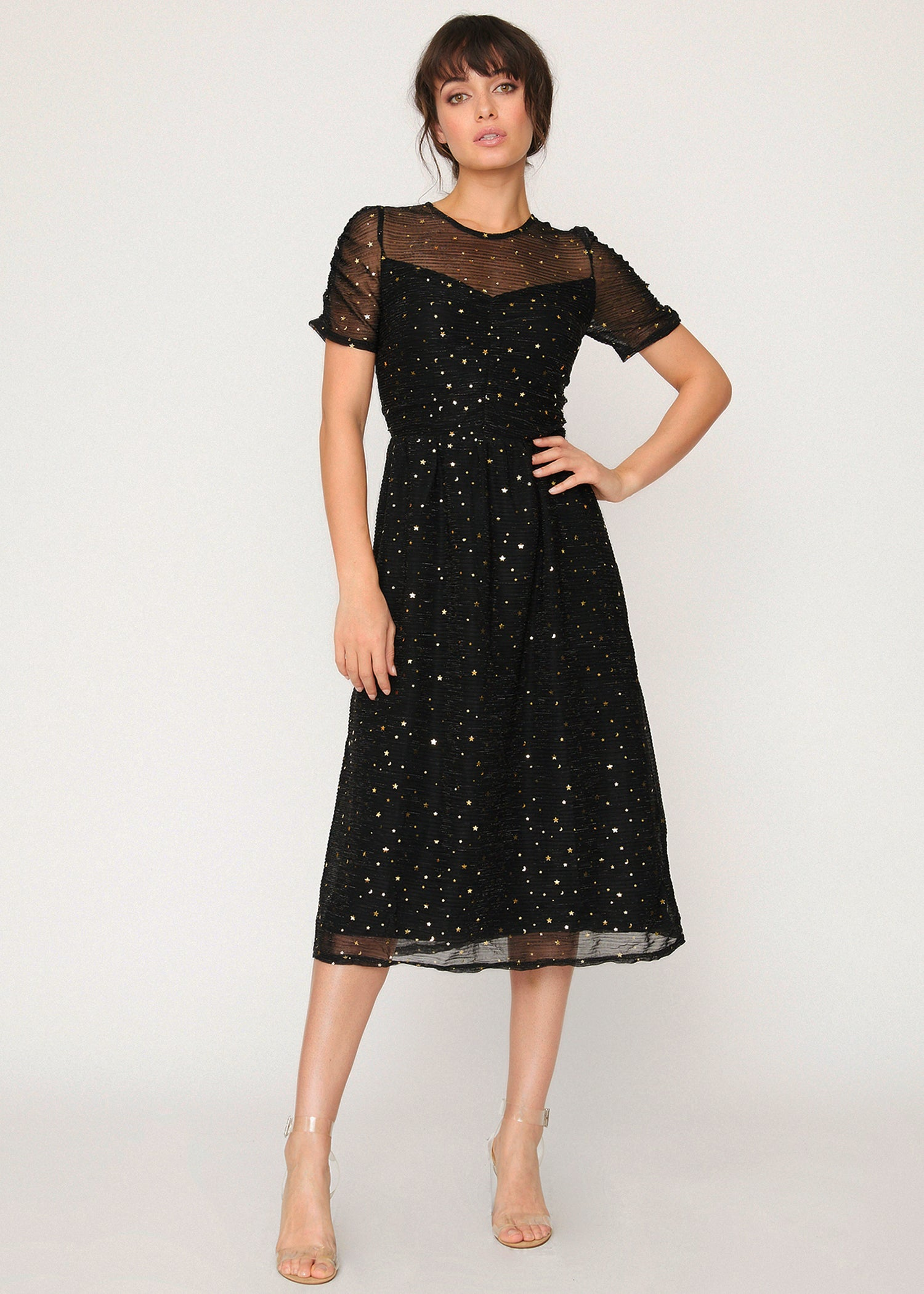 Constellation Midi Dress