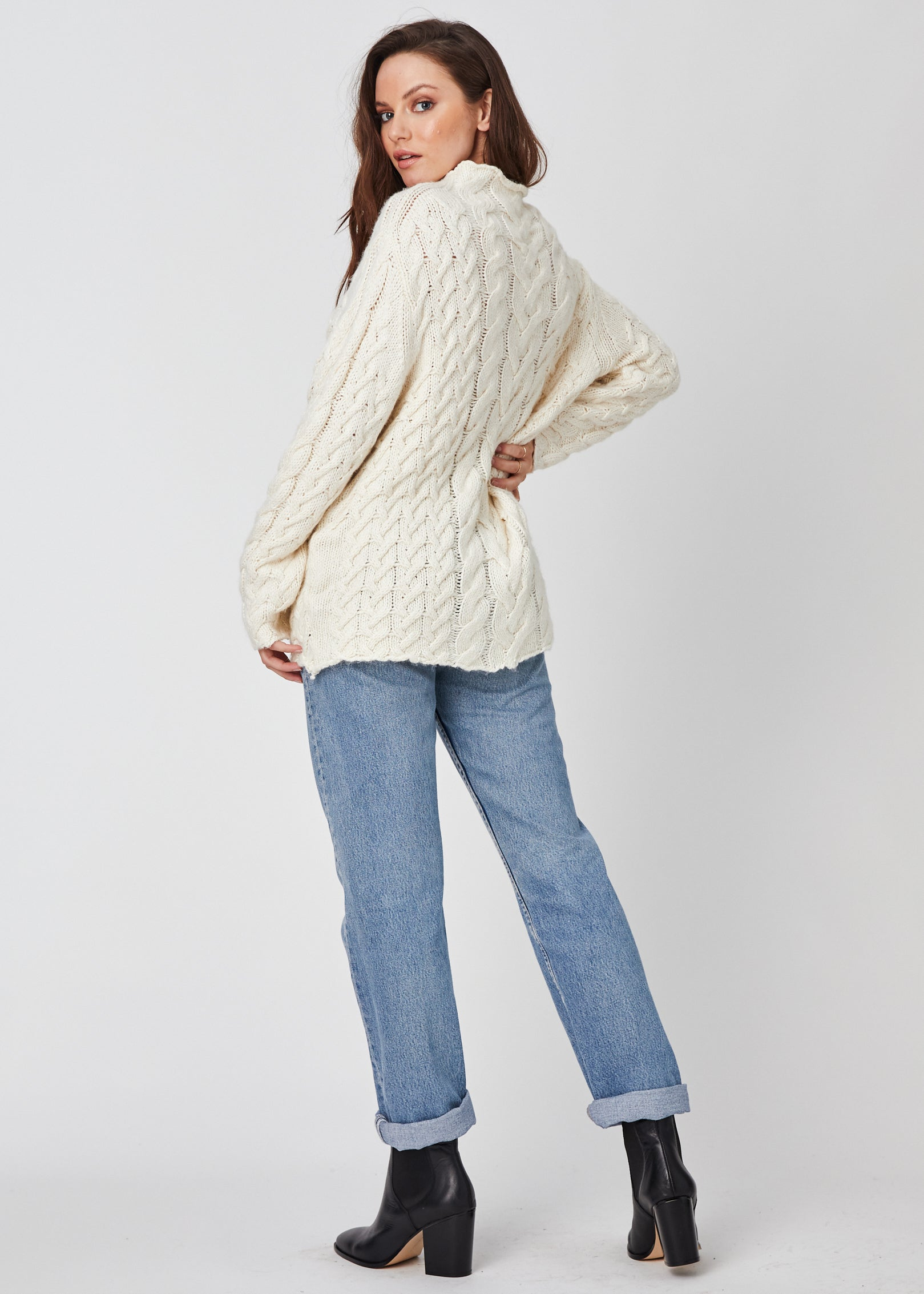 Cotton Wood Sweater