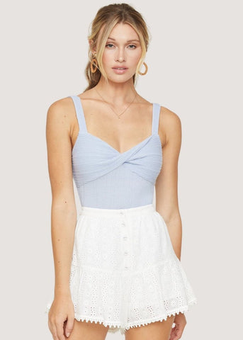 White Sands Strapless Top