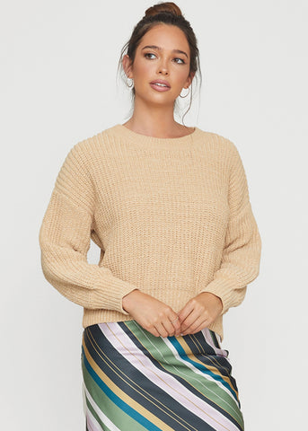 Sun Down Boxy Sweater