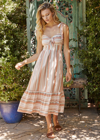 Seaside Breeze Midi Dress