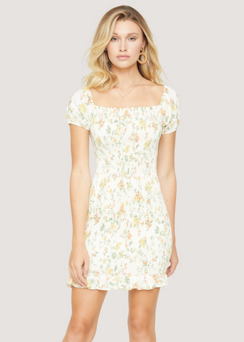 Springtime Mini Dress
