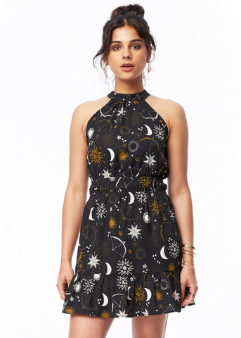 Downtown Floral Mini Dress
