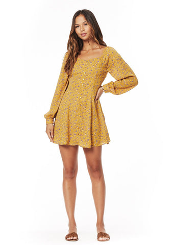 Golden Luxe Mini Dress