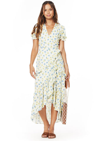 52e3e02fe0 Mama Mia Ruffle Midi Dress