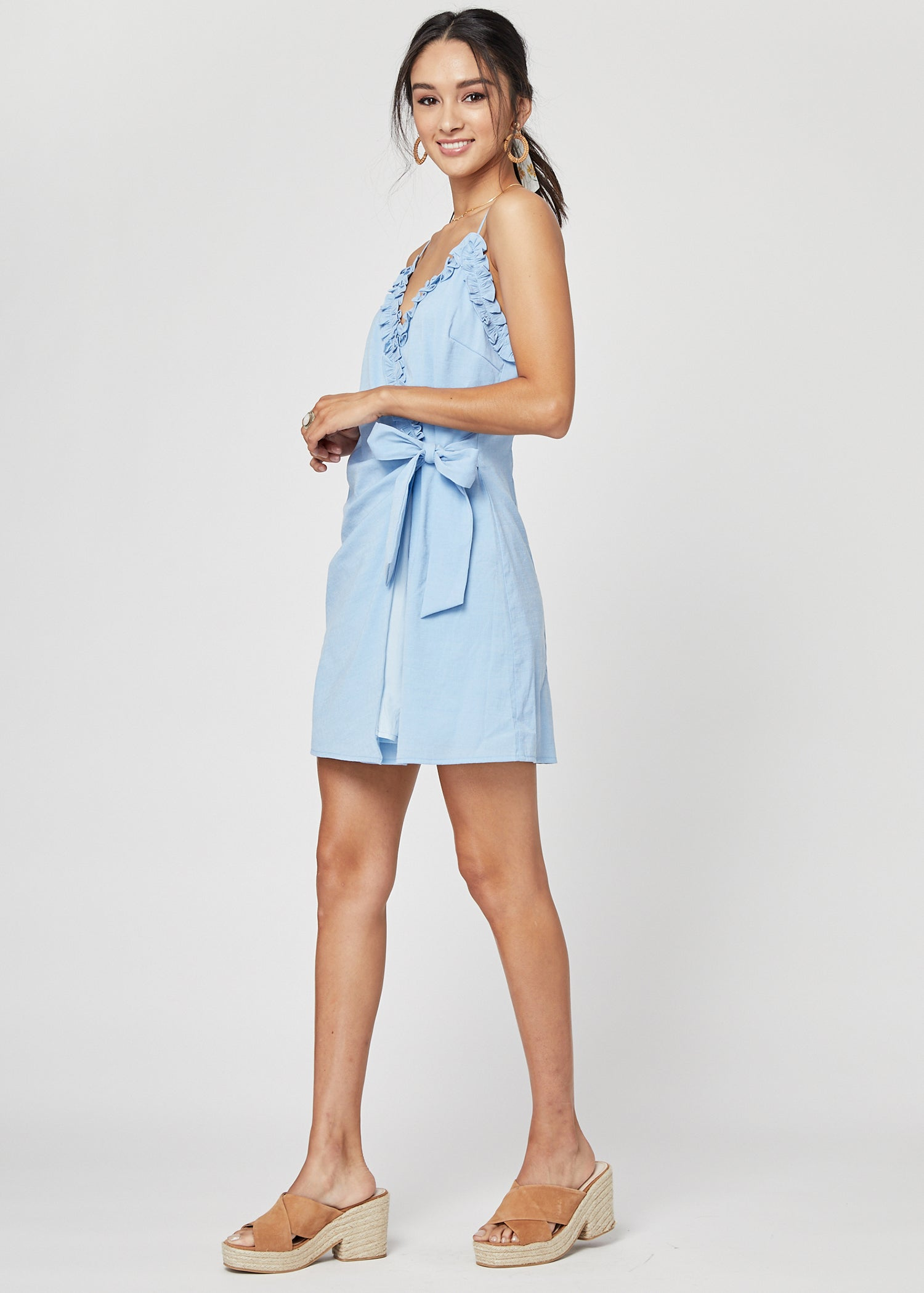Bella Ruffle Mini Dress