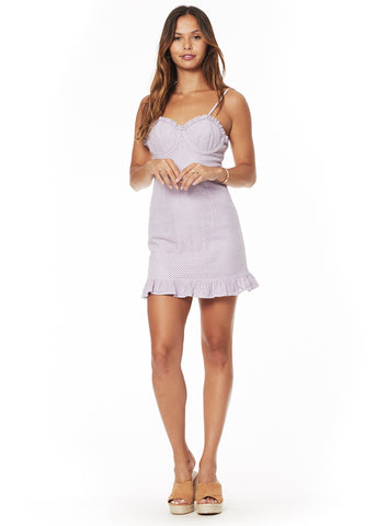 Sweet Maggie Ruffle Mini Dress