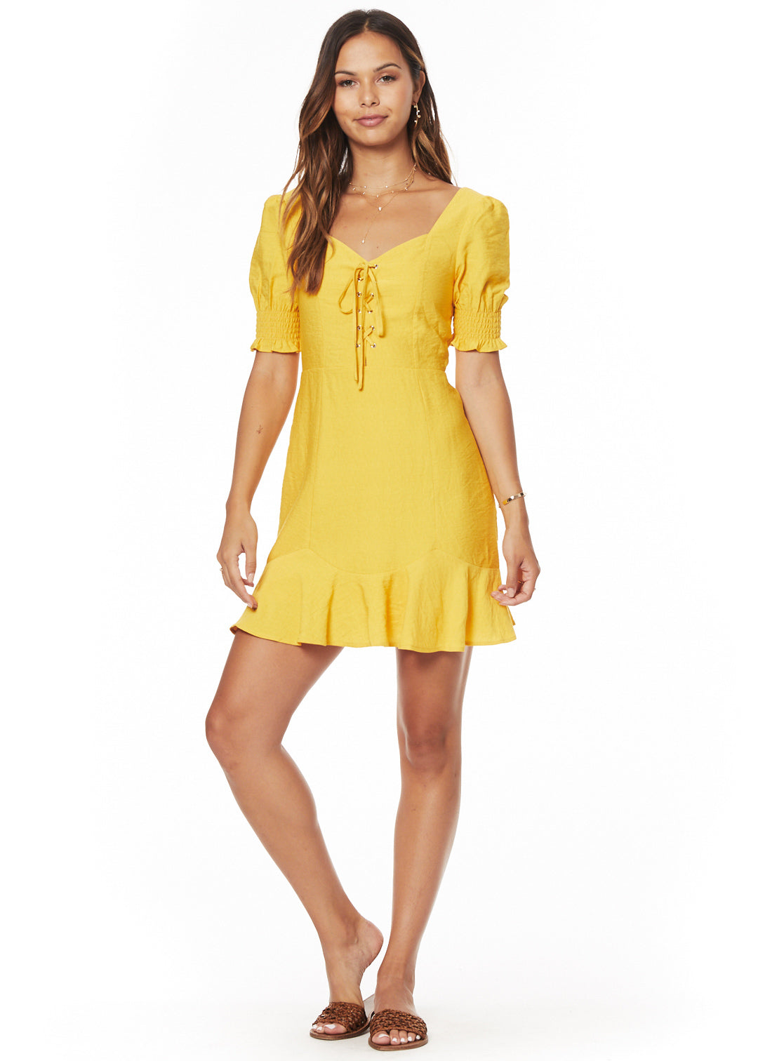 Yellow Submarine Mini Dress