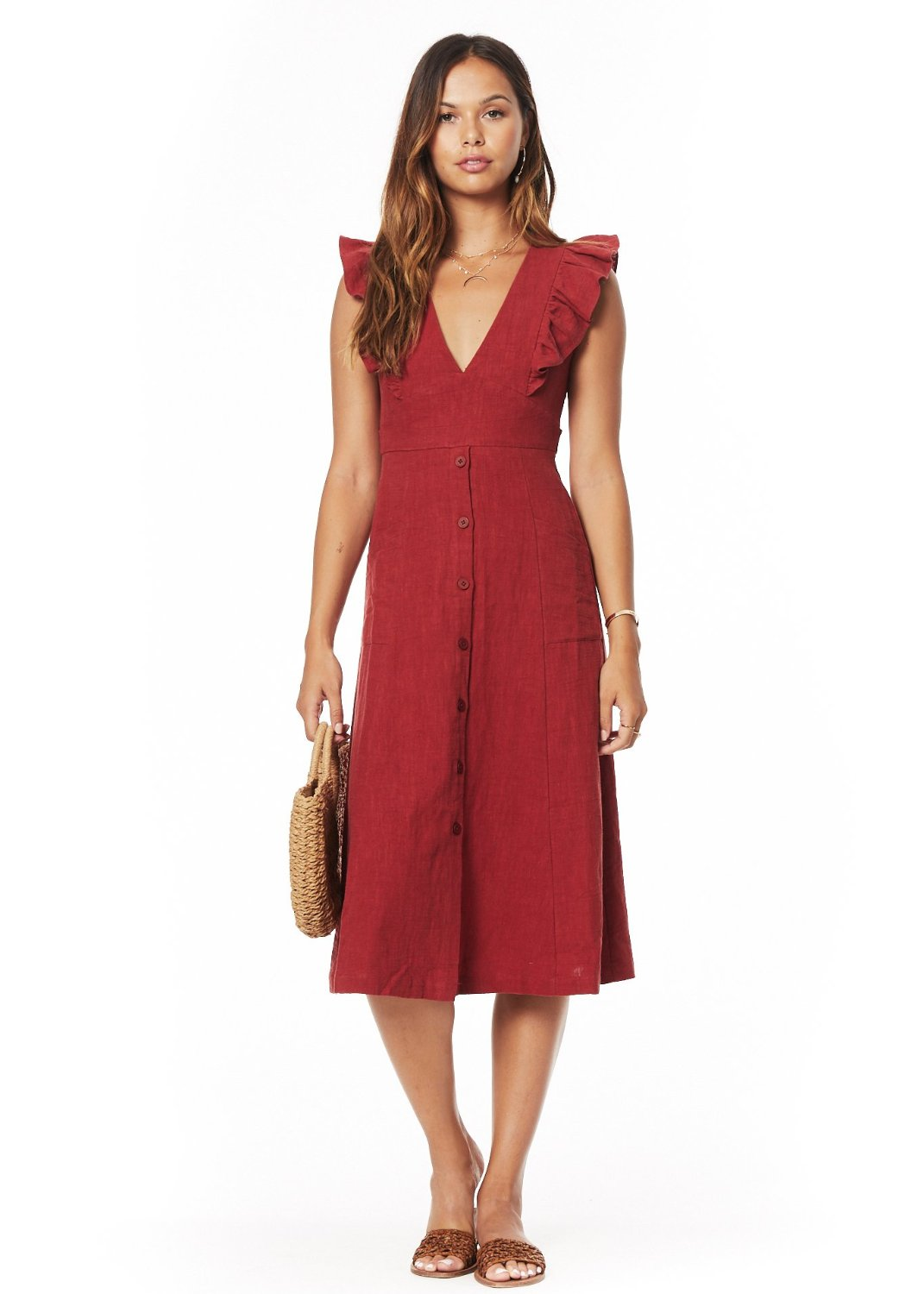 Lover's Cove Midi Dress