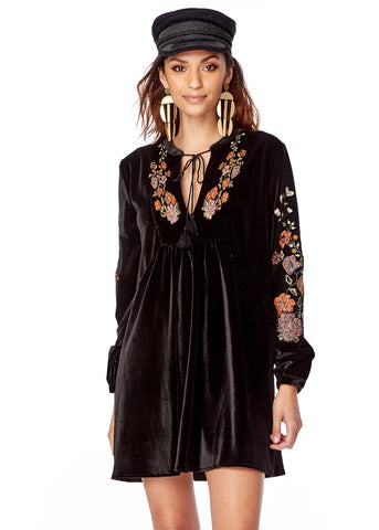 Flower Child Mini Dress