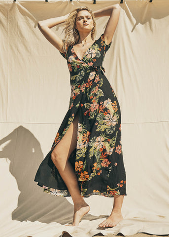 Aloha Lei Maxi Dress