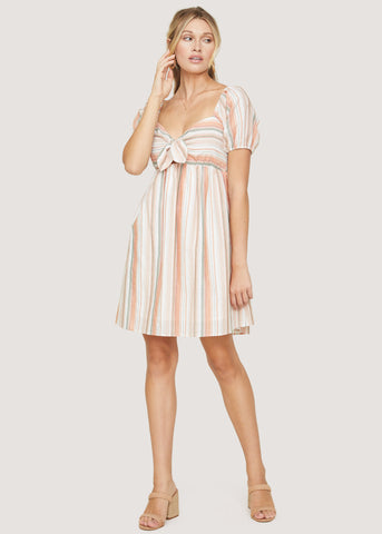 Skyline View Baby Doll Dress