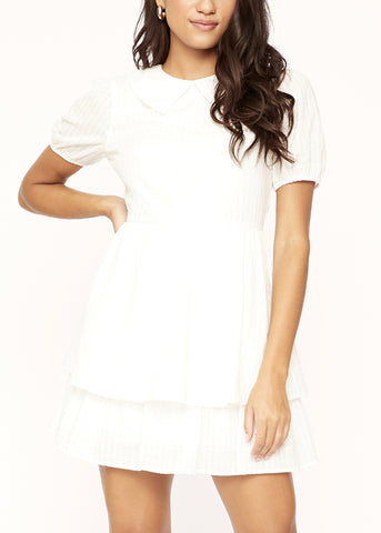 Coconut Vine Short Sleeve Mini Dress