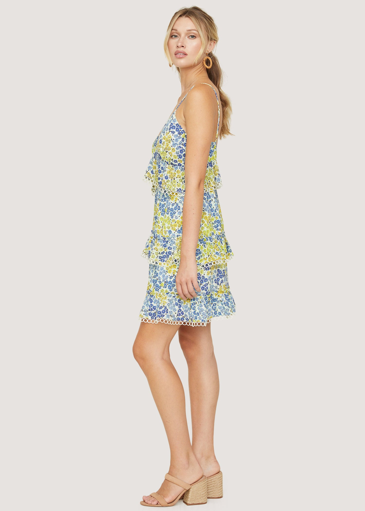 Blossom and Bloom Cami Mini Dress