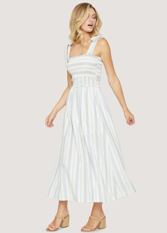 Beachside Pier  Maxi Dress