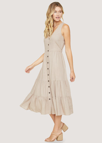 Skyline View Midi Dress