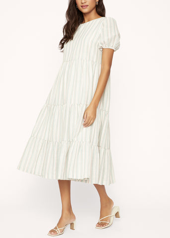 Havana Streets  Midi Dress