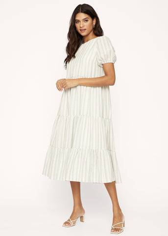 Center Of Attention Midi Dress